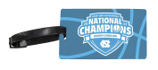 UNC Tar Heels 2017 NCAA Men's National Basketball Champs Luggage Tag 2-Pack