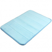 80cm x 50cm Memory Foam Microfibre Bath Room Mat Non-slip Absorbent Rug Pad Carpet Different Colours