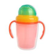 AISme Baby Straw Cup Infant Newborn Bottle Children Learn Feeding Drinking 230ml Cute
