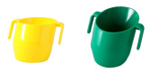 Doidy Cup Bundle - Green & Yellow - SOLID COLOUR 2 Items