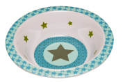 Lassig Baby Bowl with Silicone, Starlight Olive