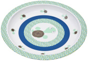 Lassig Kids Plate with Silicone, Wildlife Turtle