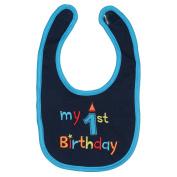 Maticr First Birthday Bibs Boy Cake Smash Bib 1st Birthday Outfit Accessory Party Supplies