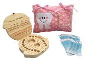 Girl Tooth Fairy Kit - Tooth Fairy Pillow Girl - Tooth Fairy Box - Tooth Fairy Letter