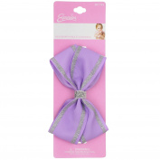 INFANT METALLIC BOW HEADWRAP