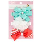 INFANT ASST BOW & FOWER HEADWRAP