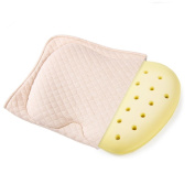 Baby Protective Pillow,Baby Head Shaping Memory Foam Pillow. KEEP an Infant's head round. Prevent Plagiocephaly or Flat Head Syndrome