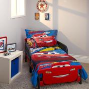 Disney Pixar Cars 3 Rust-eze Racing Team 4 Piece Toddler Bed Set