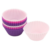 Com-four® 12x Silicone Muffin / Cake Cases Bakeware Cupcake Cake Cases