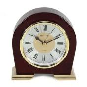 Rhythm Metal/wooden Mantel Clock Beep Alarm/silent Movement