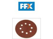 Black & Decker X32032 Perforated Sanding Discs (5) Medium Coarse 125mm