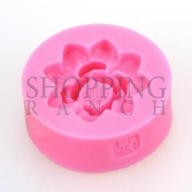 Mini Flower Silicone Mould Cupcake Cake Topper Decoration Mould Fondant