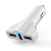 ZGFlhq Car Charger Aircraft Rockets 5.2A 3Usb Cars Car Charger