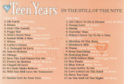 The Teen Years... In The Still of the Nite - Various Original Artists  [2 Discs]