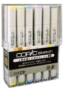 Select 2 to draw a co-pick sketching 12 colours person