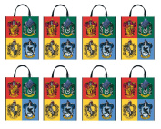Harry Potter Large Tote / Loot Bag (8 Pack) Birthday Party Supplies
