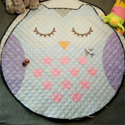 Lovely Owl Baby Kids Game Rugs Carpets Cotton Play Mats Children's Fun Time Nursery Room Decorations