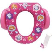 Ginsey Soft Potty Seat – Paw Patrol, Padded, Soft and Durable w/Potty Hook Included