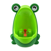 Eamall Lovely Frog Baby Toilet Training Children Potty Urinal Pee Trainer Urine For Boys with Funny Aiming Target