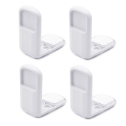 Fang sky 4pcs Child Baby Safety Lock Care Tool Cabinet Drawer Angle Door Protection
