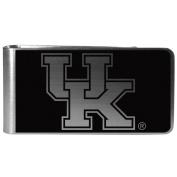 NCAA Kentucky Wildcats Black & Steel Money Clip