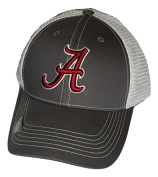 Alabama Crimson Tide Adjustable Grey Cap Mesh Back Hat