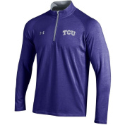 Under Armour Men's NCAA-Charged Cotton-1/4 Zip Pullover