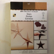DIY Project Stack creates 9 stars (28 sheets 15cm x 20cm Sheets of Kraft Paper