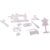 Lucoo New Metal Cutting Dies Stencil Scrapbooking Photo Paper Cards Crafts Embossing DIY