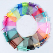 High Quality 10pcs/lot Jewellery packaging Drawable Organza Bags 7x9cm Gift Bags & Pouches . Packing bags