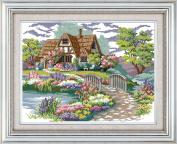 WHEEXLOCK Counted Cross Stitch My dream house