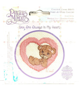 """Precious Moments Counted Cross Stitch Kit - """"You Are Always In My Heart"""""""