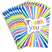 Thank You Cards - Bright and Bold Folding Style from Olivia Samuel - Includes Envelopes