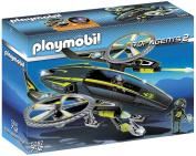 Playmobil 5287 Top Agents Mega Masters Razor Copter