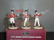 Britains 41121 Lord Nelson Battle Of Trafalgar British Marines Toy Soldier Set