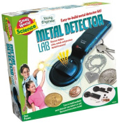Small World Toys Metal Detector Lab Science Kit