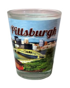 Pittsburgh PA Skyline Souvenir Shot Glass