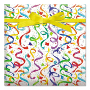 Happy Birthday Confetti Jumbo Rolled Gift Wrap - 6.7sqm