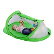 Bersun Outdoor Baby Beach Tent Sun Shelter Pop Up Travel Tent, Protect From Sun & Bugs,2 Pegs
