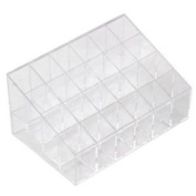 Vi.yo Lipstick Organiser Display Holder Premium Quality Clear Plastic Cosmetic Storage and Makeup Organiser