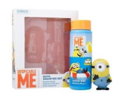 Minions Bath Squirter & 250ml Bubble Bath Set For Children