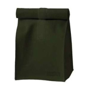 Authentics Rollbag Small, Roll-top Closure, Coated Polyester Fabrics Blackgreen
