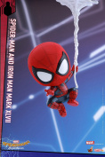 Hot Toys Cosbaby Spider-man Web Swinging magnetic