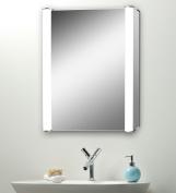 Led Illuminated Bathroom Mirror Cabinet With Demister Shaver & Sensor 70x50 C11