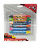Disney Cars 3 Set of 6 Double-Sided Crayons