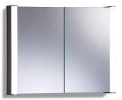 Led Illuminated Bathroom Mirror Cabinet Demister Shaver & Sensor 65x80x13cm C13
