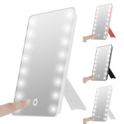 16 Led Lighted Vanity Mirror,soonhua Portable Touch Screen Led Makeup Mirror