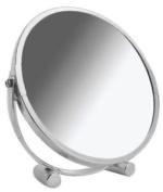 Blue Canyon Stainless Steel Swivel Shaving/ Make Up Mirror - White