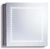 Led Illuminated Bathroom Mirror Cabinet Shaver And Sensor Switch 50 X 50 C18-2ae