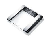 Beurer Bg55 Glass Diagnostic Bathroom Scale Black Easy-view Extra Large Backlit